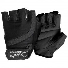 Перчатки для фитнеса PowerPlay 2311 XS Black (PP_2311_XS_Black) - Фото №1