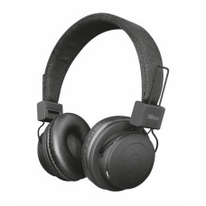 Наушники Trust Leva Wireless Over-Ear Mic Black (21754) - Фото №1