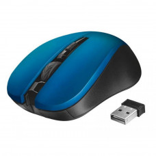 Мышка Trust Mydo Silent wireless mouse blue (21870) - Фото №1