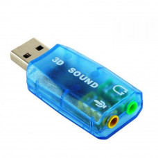 Звуковая плата Atcom USB-sound card (5.1) 3D sound (Windows 7 ready) (7807)