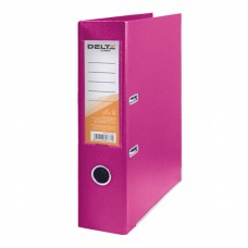 Папка - регистратор Delta by Axent double-sided PP 7,5 cм, assembled, pink (D1712-05C)