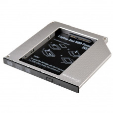 Фрейм-переходник Grand-X HDD 2.5'' to notebook 9.5 mm ODD SATA/mSATA (HDC-24N) - Фото №1