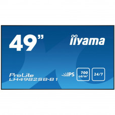 LCD панель iiyama LH4982SB-B1 49', IPS/PLS, 1920x1080, 700 кд/м2, 1300:1, DisplayPort x 1, DVI, HDMI
