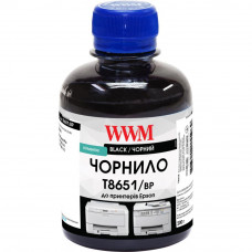 Чернила WWM Epson WorkForce Pro WF-M5690/WF-M5190 200г Black pigm. (T8651/BP)