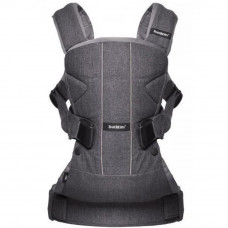 Рюкзак-переноска Baby Bjorn Baby Carrier One Cotton Mix Denim grey (98094) - Фото №1
