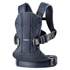 Рюкзак-переноска Baby Bjorn Baby Carrier One Air Mesh Navy blue (98008) - Фото №1