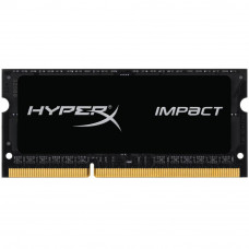 Модуль памяти для ноутбука SoDIMM DDR3 8GB 2133 MHz HyperX Impact Black Kingston (HX321LS11IB2/8) - Фото №1