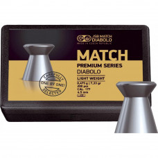 Пульки JSB Match Premium light 4.51мм, 0.5г (200шт) (1006-200) - Фото №1