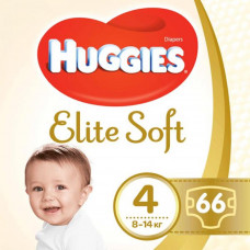 Подгузник Huggies Elite Soft 4 Mega 66 шт (5029053545301) - Фото №1