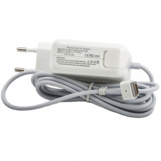 Блок питания к ноутбуку PowerPlant APPLE 220V, 14.5V 45W 3.1A (Magnet tip) (AP45PMAG) - Фото №1
