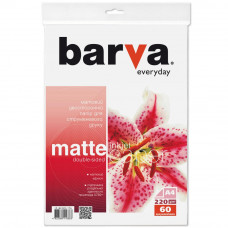Бумага BARVA A4 Everyday matted double-sided 220г 60с (IP-BE220-176) - Фото №1