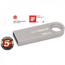 USB флеш накопитель Kingston 16Gb DataTraveler SE9 (DTSE9H/16GB) - Фото №1