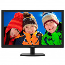 Монітор PHILIPS 223V5LSB/62 21.5', TN, 1920 х 1080, 16:9, Anti-Glare, 5мс, 0.248, VGA, 100х100 мм, ч