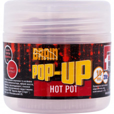 Бойл Brain fishing Pop-Up F1 Hot pot (специи) 10 mm 20 gr (1858.01.84) - Фото №1