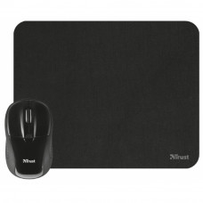 Мышка Trust Primo Wireless Mouse with mouse pad - black (21979) - Фото №1