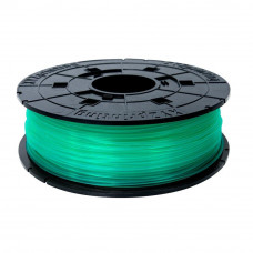 Пластик для 3D-принтера XYZprinting PLA 1.75мм/0.6кг Filament Cartridge, Clear Green (RFPLAXEU01C)