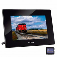 Цифровая фоторамка SONY DPF-HD800 (DPFHD800.CEU) Black 2Gb 8'' 16:10 800x480 MS Duo / SD / SDHC / SD - Фото №1