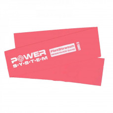 Эспандер Power System PS-4122 Flat Stretch Band Level 2 Red (PS_4122_Red) - Фото №1