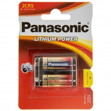 Батарейка PANASONIC 2CR5 * 1 LITHIUM (2CR-5L/1BP) - Фото №1