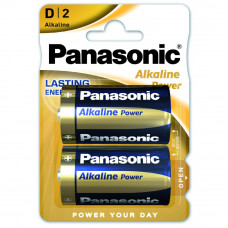 Батарейка PANASONIC D LR20 Alkaline Power * 2 (LR20REB/2BP)