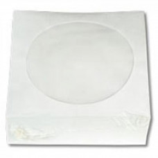 Конверт для диска RIDATA paper + window (100-pack) (3135635/INS-D044/RPB-CD100) - Фото №1