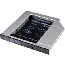 Фрейм-переходник Grand-X HDD 2.5'' to notebook 12.7 mm ODD SATA3 (HDC-27) - Фото №1