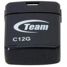 USB флеш накопитель Team 16GB C12G Black USB 2.0 (TC12G16GB01) - Фото №1