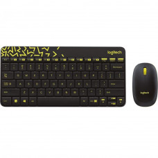 Комплект Logitech Wireless Combo MK240 Ru Black (920-008213)