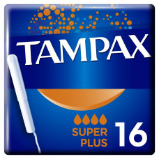 Тампоны Tampax Super Plus Duo с апликатором 16 шт (4015400075110) - Фото №1