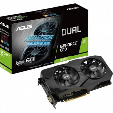 Видеокарта ASUS GeForce GTX1660 Ti 6144Mb DUAL Advanced EVO (DUAL-GTX1660TI-A6G-EVO) - Фото №1