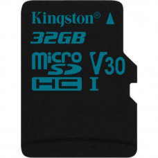 Карта памяти Kingston 32GB microSDHC class 10 UHS-I U3 Canvas Go (SDCG2/32GBSP)