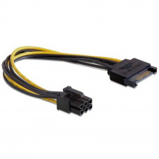 Кабель живлення PCI express 6-pin power 0.2m Cablexpert (CC-PSU-SATA) Тип - кабель, роз'єм 1 - молек