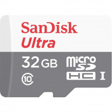 Карта памяти SANDISK 32GB Miсro-SDHC Class 10 UHS-I Ultra (SDSQUNS-032G-GN3MN) - Фото №1