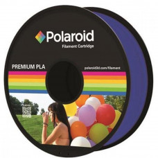 Пластик для 3D-принтера Polaroid PLA 1.75мм/1кг, transparent blue (3D-FL-PL-8023-00)