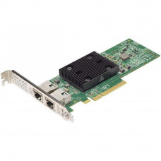 Сетевая карта Dell Broadcom 57416 2x10Gbit Base-T PCIe (540-BBUO) - Фото №1