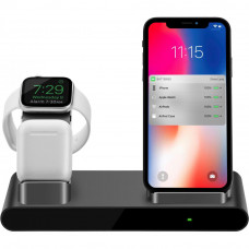 Док-станция PRESTIGIO ReVolt A1, charging station for iPhone, Apple Watch, AirPods (PCS101A_SG) - Фото №1