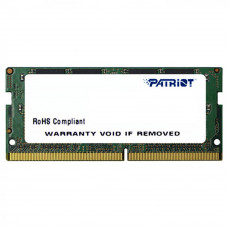 Модуль памяти для ноутбука SoDIMM DDR4 16GB 2666 MHz Patriot (PSD416G26662S) - Фото №1