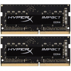 Модуль памяти для ноутбука SoDIMM DDR4 16GB (2x8GB) 2666 MHz HyperX Impact Kingston (HX426S15IB2K2/1 - Фото №1