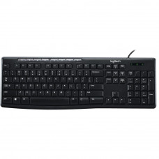 Клавиатура Logitech K200 Media Keyboard RU (920-008814) - Фото №1