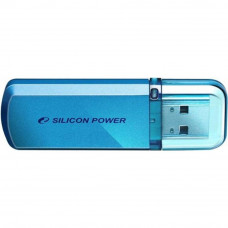 USB флеш накопитель Silicon Power 64GB Helios 101 Blue USB 2.0 (SP064GBUF2101V1B) - Фото №1