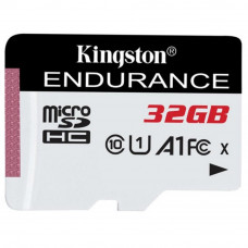 Карта пам'яті Kingston 32GB microSD class 10 UHS-I U1 A1 High Endurance (SDCE/32GB) Тип карти пам'ят