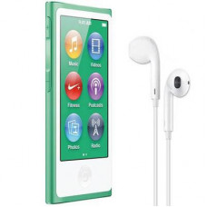 mp3 плеер Apple iPod Nano 7Gen 16GB Green (MD478QB/ A) - Фото №1