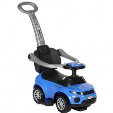 Чудомобиль Lorelli Off Road+Handle blue (OFF ROAD+HANDLE blue) - Фото №1