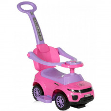 Чудомобиль Lorelli Off Road+Handle pink (OFF ROAD+HANDLE pink) - Фото №1