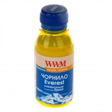 Чернила WWM EPSON UNIVERSAL EVEREST pigmented Yellow (EP02/YP-2) - Фото №1