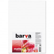 Бумага BARVA A3 Everyday Matted 220г double-sided 20с (IP-BE220-295) - Фото №1